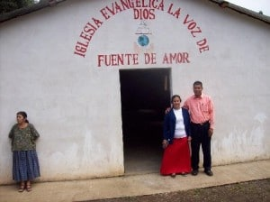 Luis and his wife are starting a church in El Salvador. This is a church that we started in a Guatemalan village.